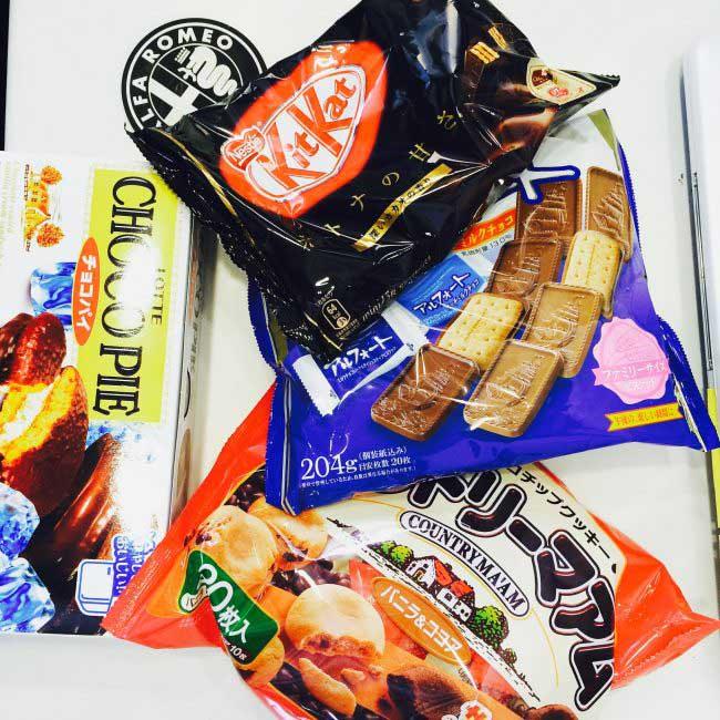 caseお菓子